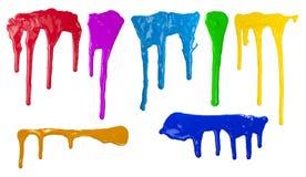 краска капания стоковое фото
