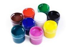 краска контейнеров Стоковое Изображение
