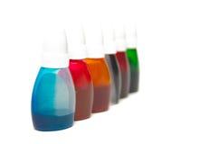 краска контейнеров Стоковые Изображения