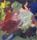 краска масла предпосылки Стоковая Фотография RF