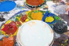 краска масла 01 Стоковое Изображение RF
