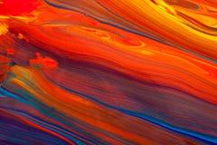 Краска масла Стоковая Фотография