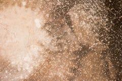 краска металла предпосылки слезая ржавую белизну текстуры стоковая фотография rf