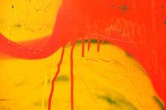 Краска на бумажной барже. Стоковая Фотография RF