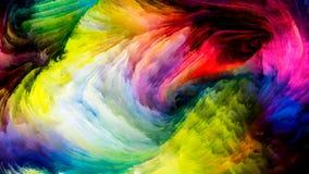 краска предпосылки цветастая Стоковое Фото