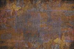Краска предпосылки стены старая треснутая Стоковая Фотография