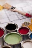 краска состава стоковые изображения rf