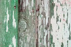 Краска текстуры шелушения на старой выдержанной древесине текстуры - текстурируйте предпосылку, поверхность текстуры старых дерев Стоковые Изображения