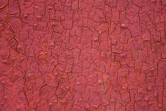 Краска треснутая текстурой Стоковая Фотография RF