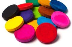 Краска цвета, покрашенная акварель Стоковая Фотография RF