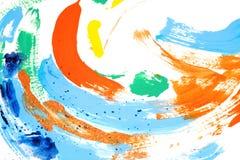 краска цвета смешная иллюстрация вектора