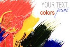 краска цвета Стоковая Фотография