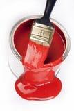 краска цветов глубокая Стоковая Фотография RF