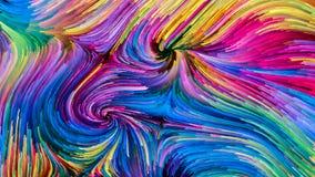 Краска цифров красочная стоковое фото rf
