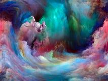 Краска цифров Стоковое Изображение