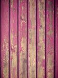 Краска шелушения на деревенской древесине Стоковые Фото