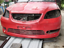Краска шелушения автомобиля Стоковое Фото