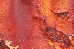 Краска шелушения и ржавая текстура Стоковые Изображения