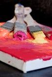 краска щетки Стоковые Изображения
