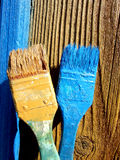 краска щеток Стоковая Фотография RF