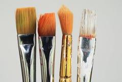 краска щеток Стоковые Изображения RF