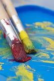 краска щеток Стоковое Фото