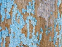 Краска Obrezaushue на деревянной стене Стоковые Фото