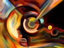 Краска ofпоцелуя внутренняя Стоковые Изображения RF