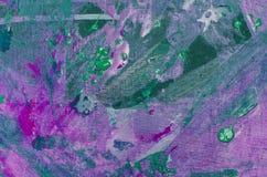 Краски изображения на холсте Стоковое Изображение RF