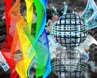 Краски интернета Стоковая Фотография