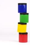краски перста Стоковое фото RF