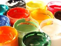 краски цветов Стоковые Фотографии RF