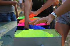 Краски для развлечений стоковое изображение rf