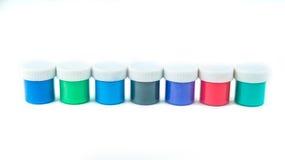 Краски для рисовать Стоковые Изображения RF