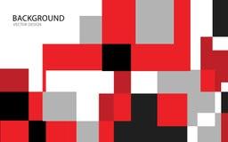 Красная абстрактная иллюстрация вектора предпосылки Стена Знамя сети крышка Карточка текстура обои Рогулька иллюстрация штока