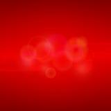 Красная абстрактная предпосылка с светом Стоковая Фотография RF