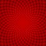 Красная абстрактная спираль Стоковая Фотография RF