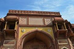 Красная арка форта Стоковые Изображения