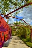 Красная арка Стоковое Фото