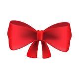 Красная бабочка на белой предпосылке также вектор иллюстрации притяжки corel Стоковые Фото