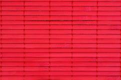 Красная бамбуковая картина Стоковое Изображение
