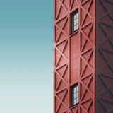 Красная башня Стоковое Изображение
