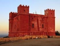 Красная башня Стоковые Фото