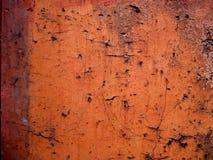 Красная бетонная стена Стоковое Изображение