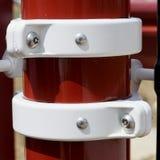 красная белизна структуры Стоковая Фотография