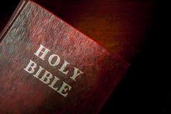 Красная библия Стоковые Фотографии RF