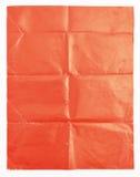 Красная бумажная текстура на белой предпосылке Стоковые Фото