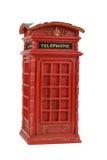 Красная будочка телефона Стоковое Фото