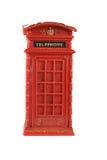 Красная будочка телефона Стоковые Изображения