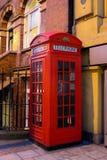 Красная будочка телефона Стоковая Фотография RF
